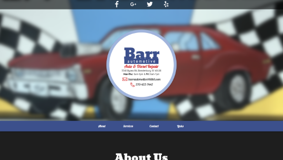 Barr Automotive website